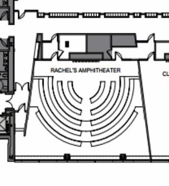 Rachel's Amphitheater Floorplan